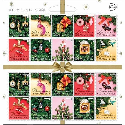kerstpostzegels 2020