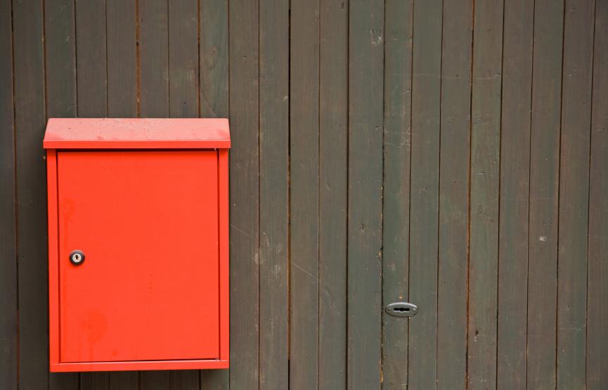 kleine brievenbus