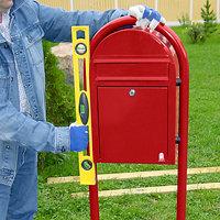 brievenbus waterpas plaatsen