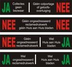 Ja Nee stickers