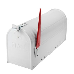 US Mailbox wit staal