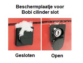 Bobi cilinderslot beschermplaatje