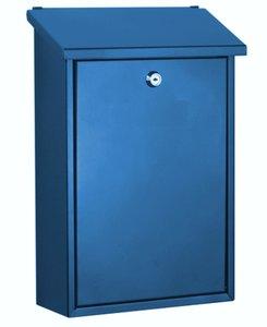 brievenbus auckland blauw