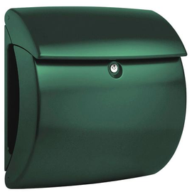 Showroommodel: Brievenbus Burgwachter Pearl mat groen