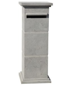 staande brievenbus pilaar hardsteen
