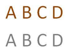 Corten staal letter C