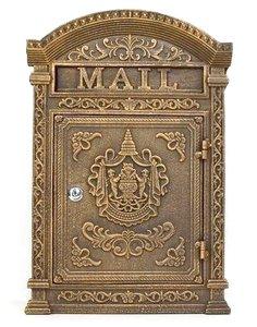 brievenbus koper antiek