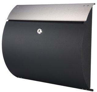 brievenbus zwart mat