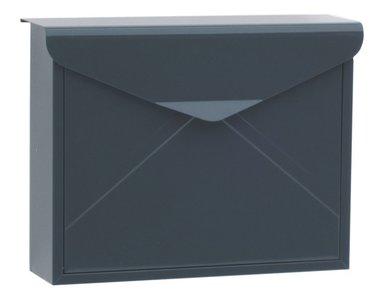 brievenbus envelop antraciet