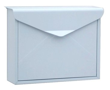 envelop brievenbus wit