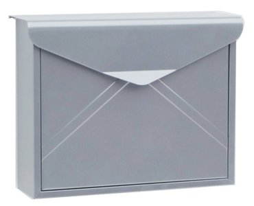 envelop brievenbus grijs