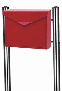 envelop brievenbus rood met statief