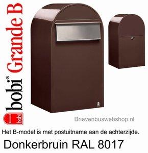 Bobi Grande B donkerbruin 8017