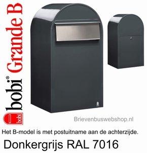 Bobi Grande B donkergrijs ral 7016