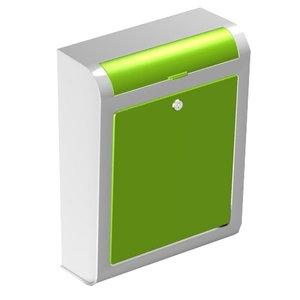 Design brievenbus Express Systems groen
