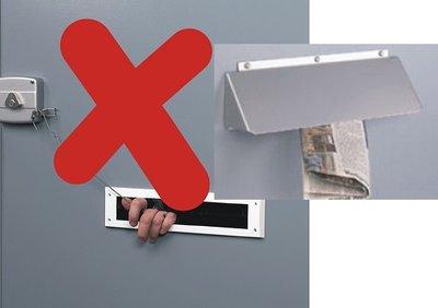 anti hengel brievenbus beveiliging