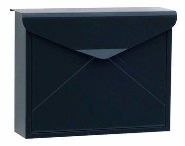 envelop brievenbus zwart