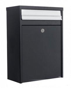 brievenbus modern zwart