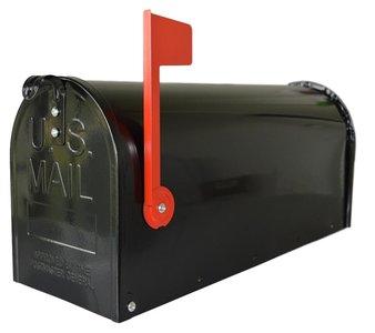 US mailbox zwart