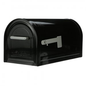 US Mailbox met slot (Zwart)