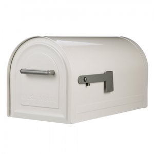 US Mailbox met slot (Wit)