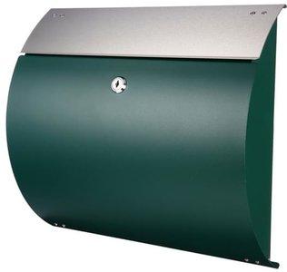 brievenbus groen rvs