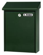 kleine brievenbus groen