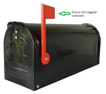 B-keus:-Amerikaanse-brievenbus-staal-zwart