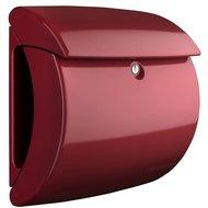 Hoogglans brievenbussen bordeaux rood