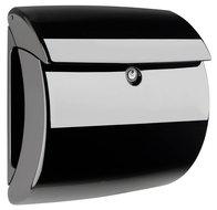 brievenbus hoogglans zwart