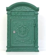 brievenbus antiek groen