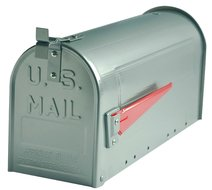 us mailbox zilver