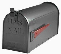 amerikaanse brievenbus antraciet