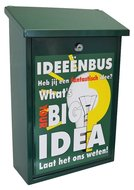 Ideeënbrievenbus groen