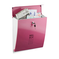 brievenbus roze