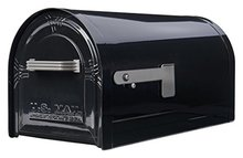 US-Mailbox-met-slot-Brievenbus-USA-met-slot-(Zwart)