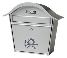 brievenbus holiday zilver