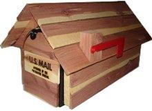 amerikaanse brievenbus cedar hout