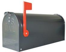 US mailbox grijs