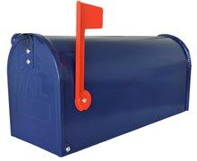 US mailbox blauw
