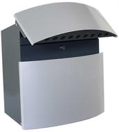 Wandbrievenbus-Locanta-SP124-zilver-antraciet-(B-keus)