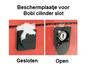 Bobi cilinderslot beschermplaatje_