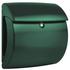 Showroommodel: Brievenbus Burgwachter Pearl mat groen_